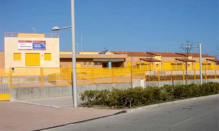 El colegio Tempranales de Sanse estará finalizado para el principio del curso escolar