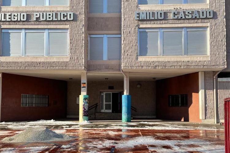 Los centros educativos de Alcobendas, listos para la vuelta a clase tras la nevada