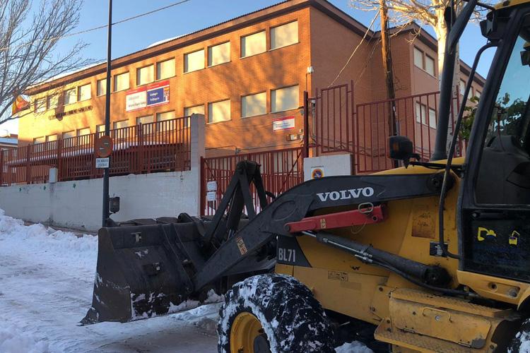 El Ayuntamiento Sanse se vuelca para minimizar los daños en los centros educativos
