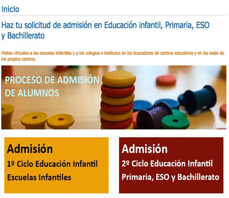 El Ayuntamiento de Alcobendas promueve visitas virtuales para la escolarización, del 19 de mayo al 5 de junio