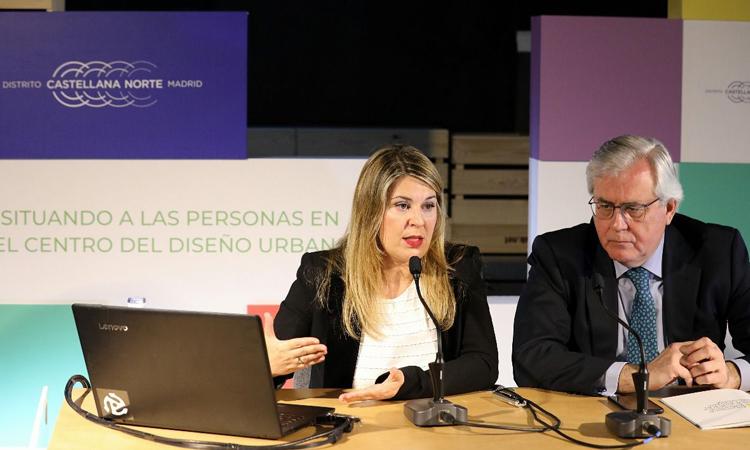 Distrito Castellana Norte lanza su nueva plataforma online