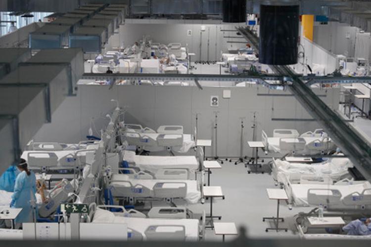 La Comunidad de Madrid prepara el tercer pabellón del Hospital público Enfermera Isabel Zendal con 352 camas de hospitalización