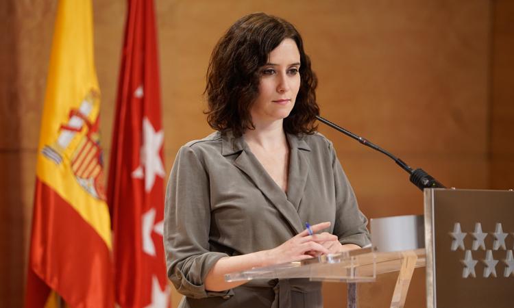 La Presidenta Díaz Ayuso propone a Sánchez crear un grupo de trabajo para ajustar las medidas de desconfinamiento a las peculiaridades de cada Comunidad