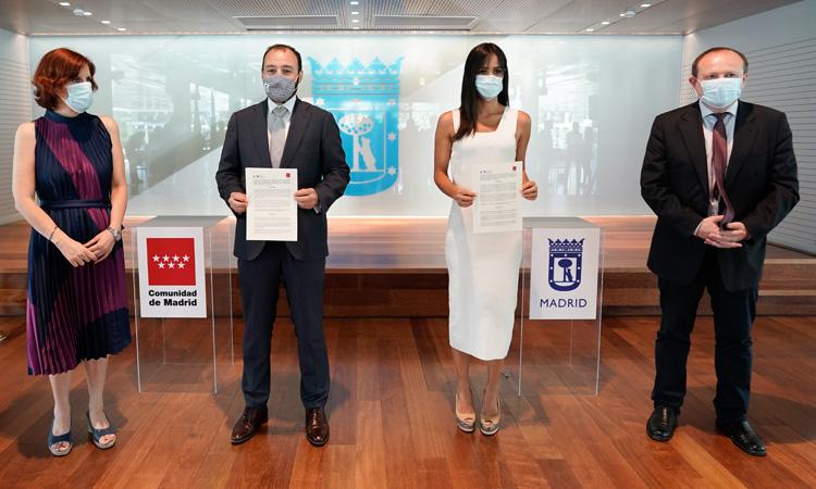La Comunidad firma el primer convenio de colaboración con el Ayuntamiento de Madrid en materia de empleo
