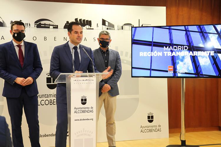 Alcobendas, primer ayuntamiento de la región que se inscribe en el Registro de Transparencia de la Comunidad de Madrid