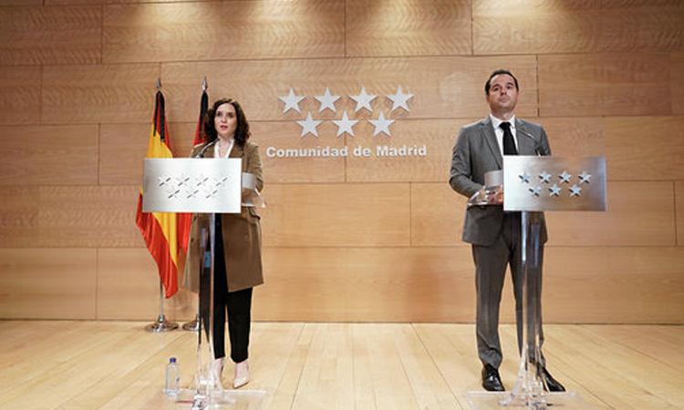 La Comunidad de Madrid presenta un ambicioso Plan para la Reactivación de la Región tras el COVID-19