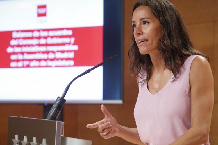 Según Eugenia Carballedo, el Gobierno de la Comunidad de Madrid ha aprobado en el primer año de legislatura 1.549 actuaciones y contestado más de 10.000 iniciativas en la Asamblea