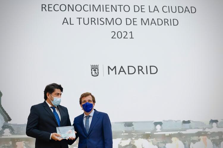 Metro de Madrid recibe el premio al 'Desarrollo de la Accesibilidad Turística del Ayuntamiento de Madrid