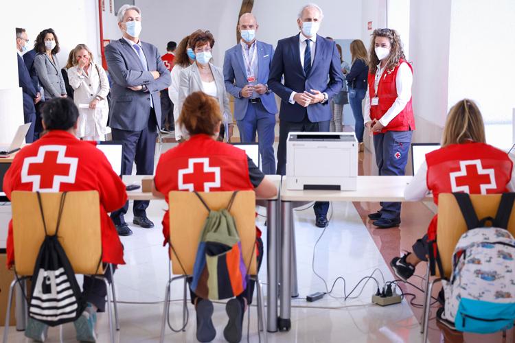 La Comunidad de Madrid administra en cinco días 1.540 dosis de vacunas contra el COVID19 en los Campus Universitarios