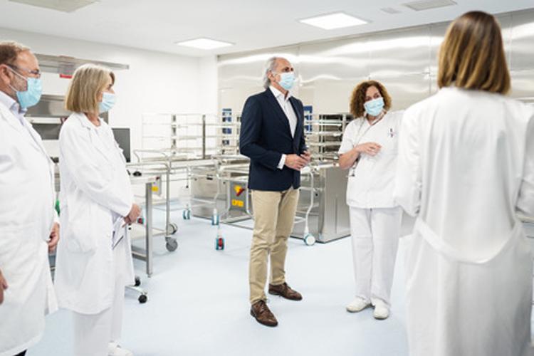La Comunidad de Madrid dota al Hospital La Paz de una Nueva Central de Esterilización más Moderna, Eficiente y Segura