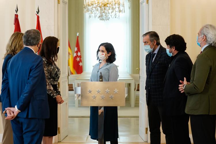 La Presidenta, Isabel Díaz Ayuso, dimite y convoca eleciones para el próximo 4 de mayo