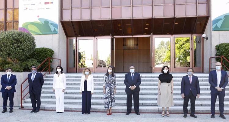 Díaz Ayuso asiste a la inauguración del World Blindness Summit 2021, presidido por la Reina doña Letizia