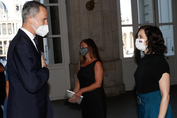 Díaz Ayuso asiste al Homenaje de Estado a las Víctimas de la Pandemia del COVID-19 y de Reconocimiento al Personal Sanitario