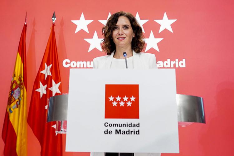 """Díaz Ayuso flexibilizará los aforos para la tercera semana de septiembre: """"Las medidas se aplicarán con total prudencia"""""""