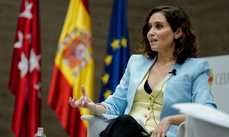 """Isabel Díaz Ayuso: """"Mientras Madrid siga siendo faro para los demás, hay esperanza"""""""