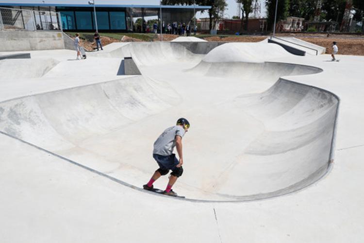 La Comunidad de Madrid inaugura un SkatePark en homenaje a Ignacio Echeverría