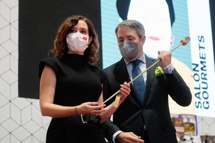 Díaz Ayuso reivindica la Comunidad de Madrid como región productora de materias primas de calidad