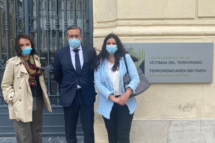 La Comunidad reafirma su compromiso con la Memoria Individual y Colectiva de las Víctimas del Terrorismo