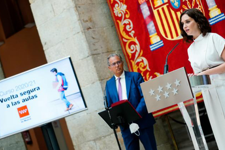 La Comunidad de Madrid contratará a casi 11.000 educadores, técnicos especialistas, maestros y profesores