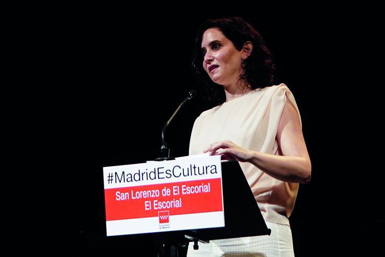 Díaz Ayuso presenta el I Festival Internacional de Verano de El Escorial, nueva apuesta de la Comunidad de Madrid por la Descentralización Cultural