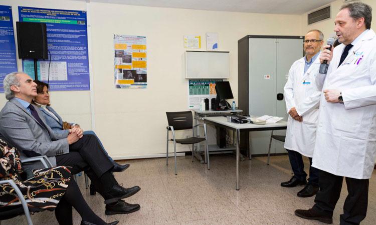 El Consejero de Sanidad, Ruiz Escudero, visita Alcobendas