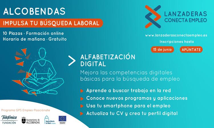 """Alcobendas contará en junio con """"Alfabetización Digital"""", un nuevo programa online de orientación laboral"""