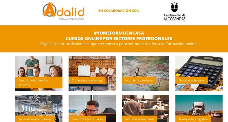 Alcobendas refuerza la formación online para mejorar la empleabilidad