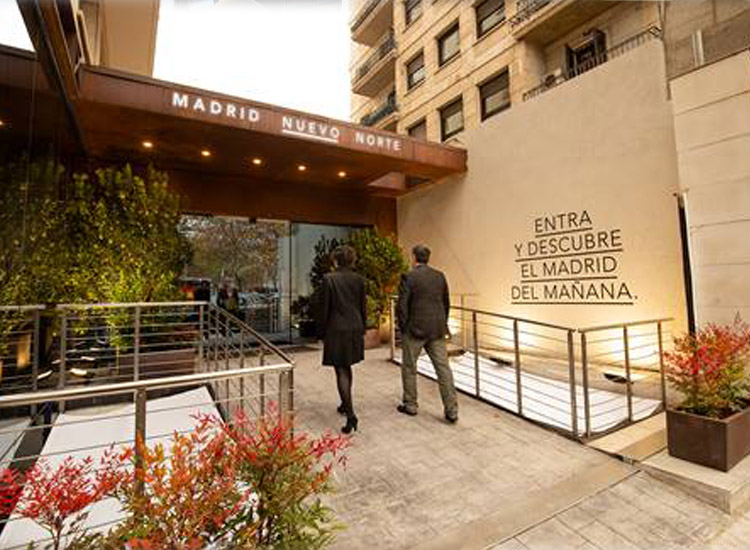 DCN inaugura la exposición de #MadridNuevoNorte