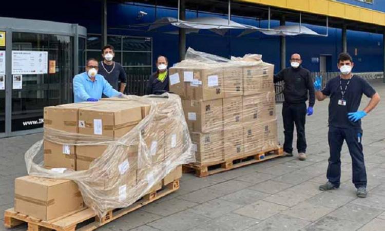 La Comunidad de Madrid ha destinado los 19 millones recibidos en donaciones a la compra de material sanitario
