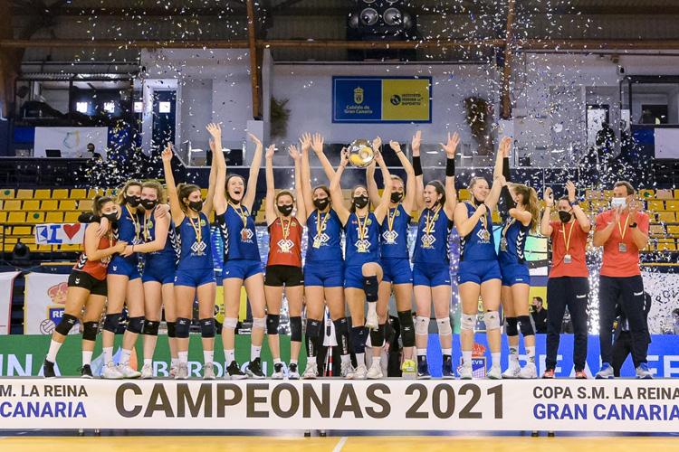 ¡Las chicas del Feel Volley Alcobendas ganan la Copa de la Reina por primera vez!