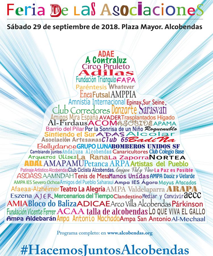 Alcobendas celebra la Feria de las Asociaciones