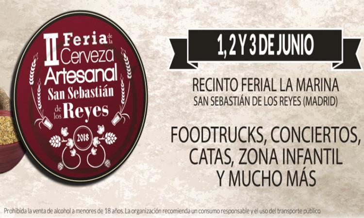II Feria de la Cerveza Artesanal de San Sebastián de los Reyes