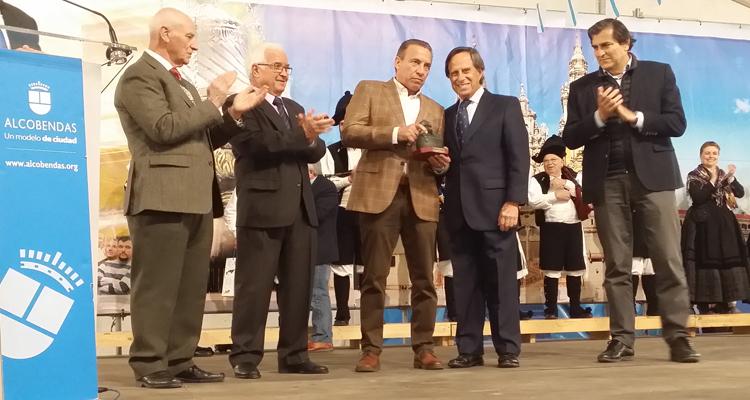 Paco Buyo pregonero de la Feria del Marisco de Alcobendas