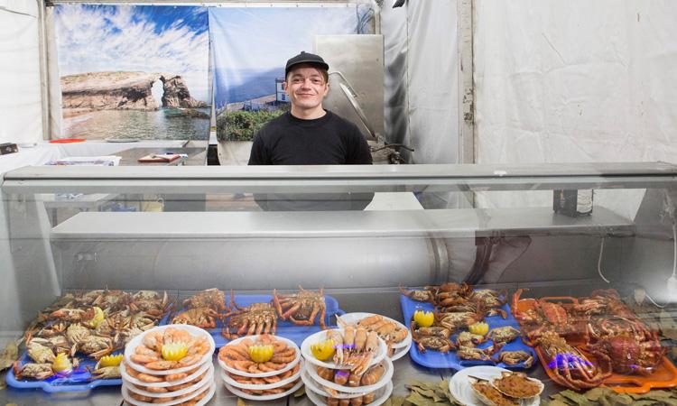 Mañana empieza la Feria del Marisco de Alcobendas 2019