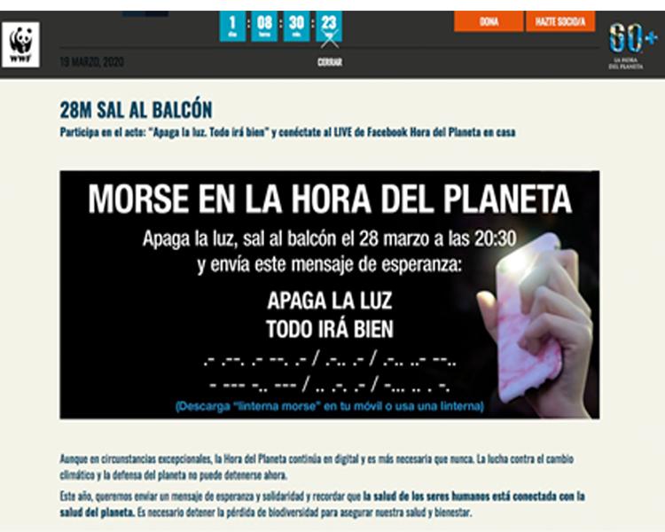 """El Ayuntamiento de Alcobendas invita a los vecinos a celebrar la """"Hora del Planeta"""""""