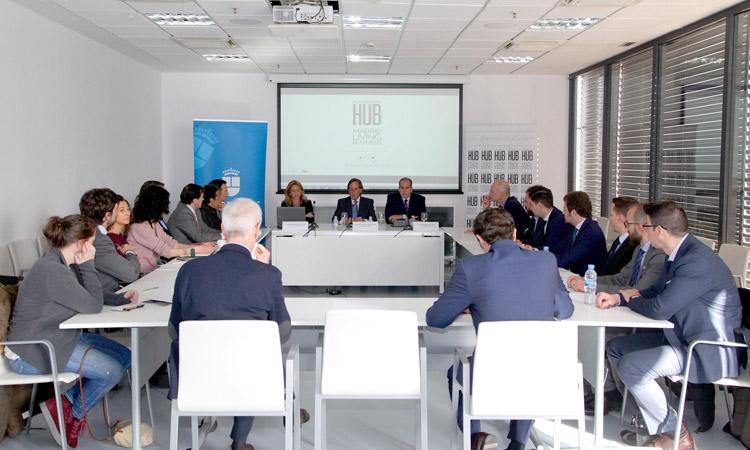 Alcobendas HUB. Encuentro para establecer sinergias con el sector inmobiliario
