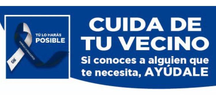 """La Junta Municipal de Fuencarral-El Pardo pone en marcha la campaña """"Cuida a tu vecino"""""""