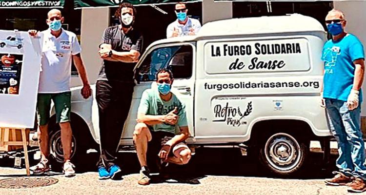 """Cuarta Maratón """"LA GRAN RECOGIDA VERANO 2021"""" de LA FURGO SOLIDARIA DE SANSE"""