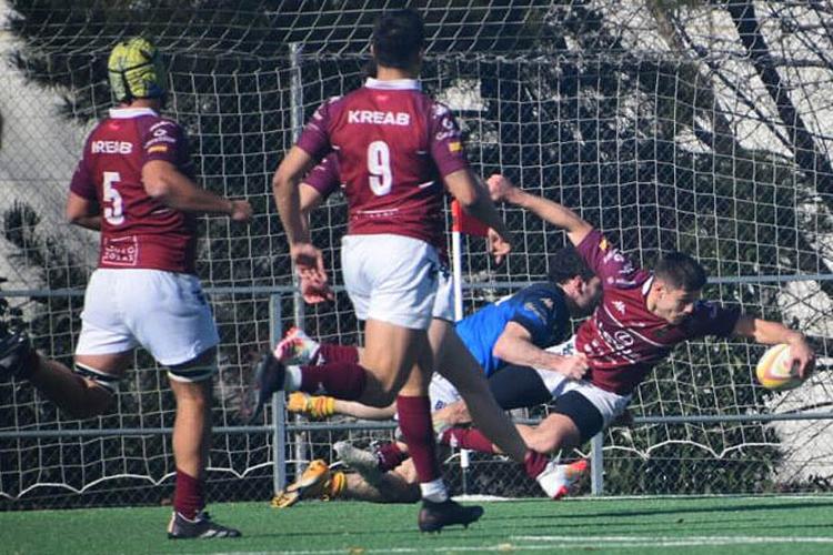 El Lexus Alcobendas Rugby empieza el camino al título