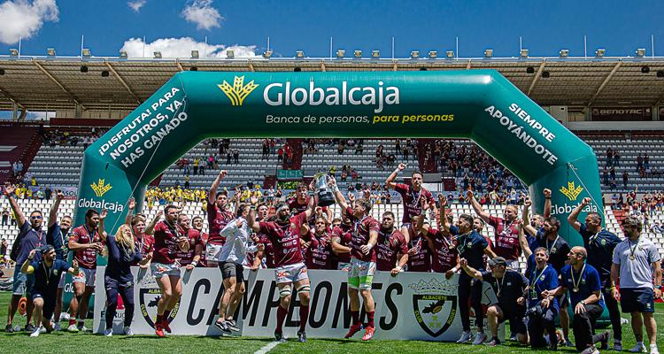 El Lexus Alcobendas Rugby ha conquistado, ayer domingo, la Copa del Rey por tercer año consecutivo en Albacete