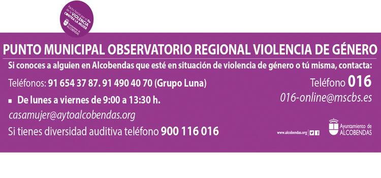 Alcobendas sigue garantizando la atención a las mujeres maltratadas, durante el confinamiento
