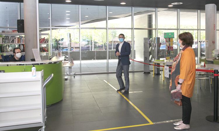 Las Mediatecas de Alcobendas abren sus puertas hoy, de nuevo, tras el confinamiento