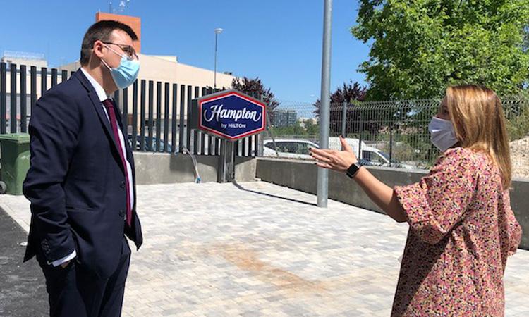 Alcobendas albergará el primer Hotel Hampton de la cadena Hilton en España