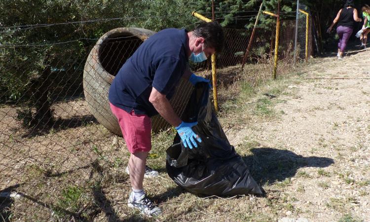 Miguel Ángel Medranda, un Alcalde de pico y pala, concienciado con el Medio Ambiente