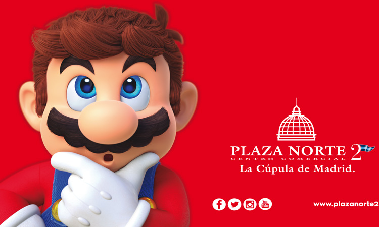 Super Mario Odyssey en Plaza Norte 2