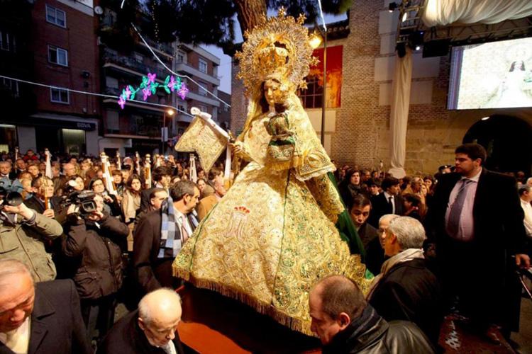 La novena de la Virgen de La Paz no será cantada y se retransmitirá por Youtube