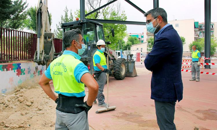 El Ayuntamiento de Alcobendas invierte 1 millón de euros en mejorar los 14 colegios públicos