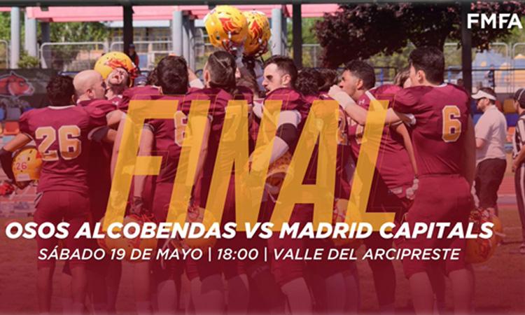 Alcobendas Osos de Madrid en la final de la Liga Madrileña
