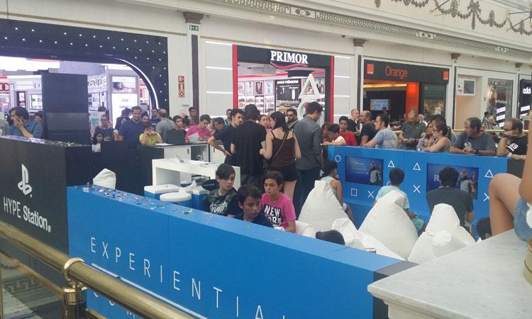 Inaugurado en el Centro Comercial Plaza Norte 2 el nuevo espacio gamer HYPE Station