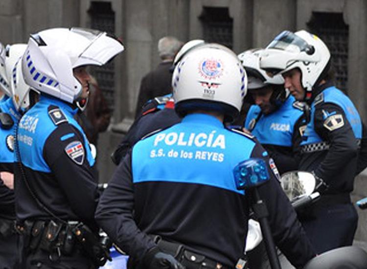 Rápida y eficaz actuación de la Policía Local de San Sebastián de los Reyes